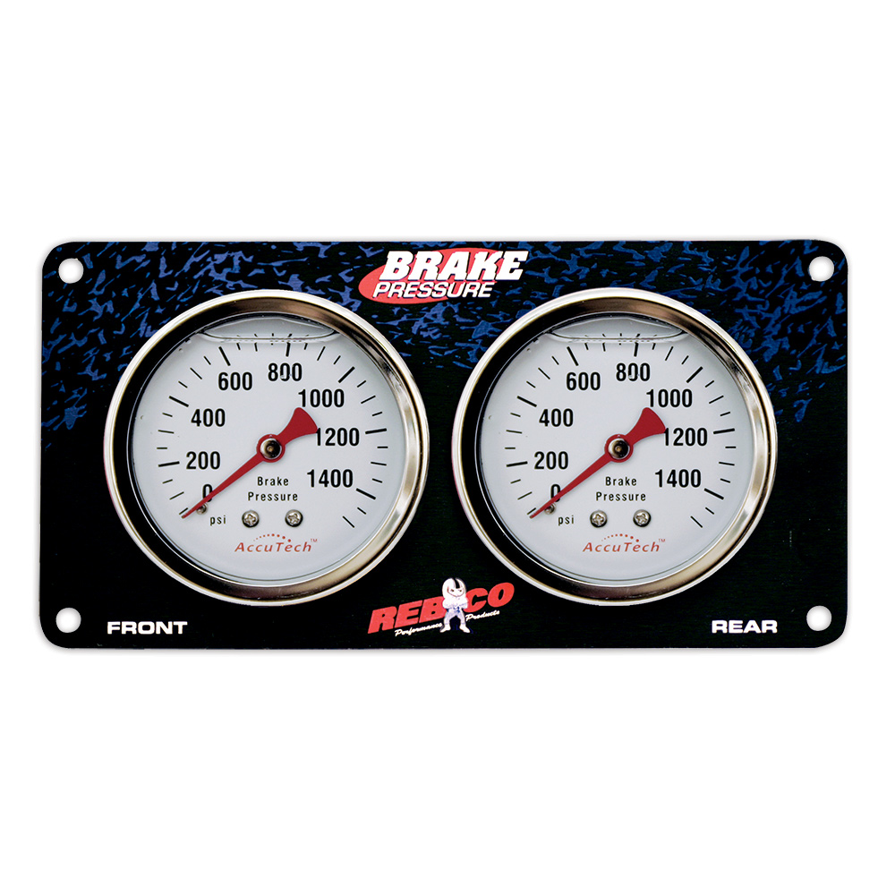 2 Gauge Brake Bias Panel with AccuTech™ Gauges