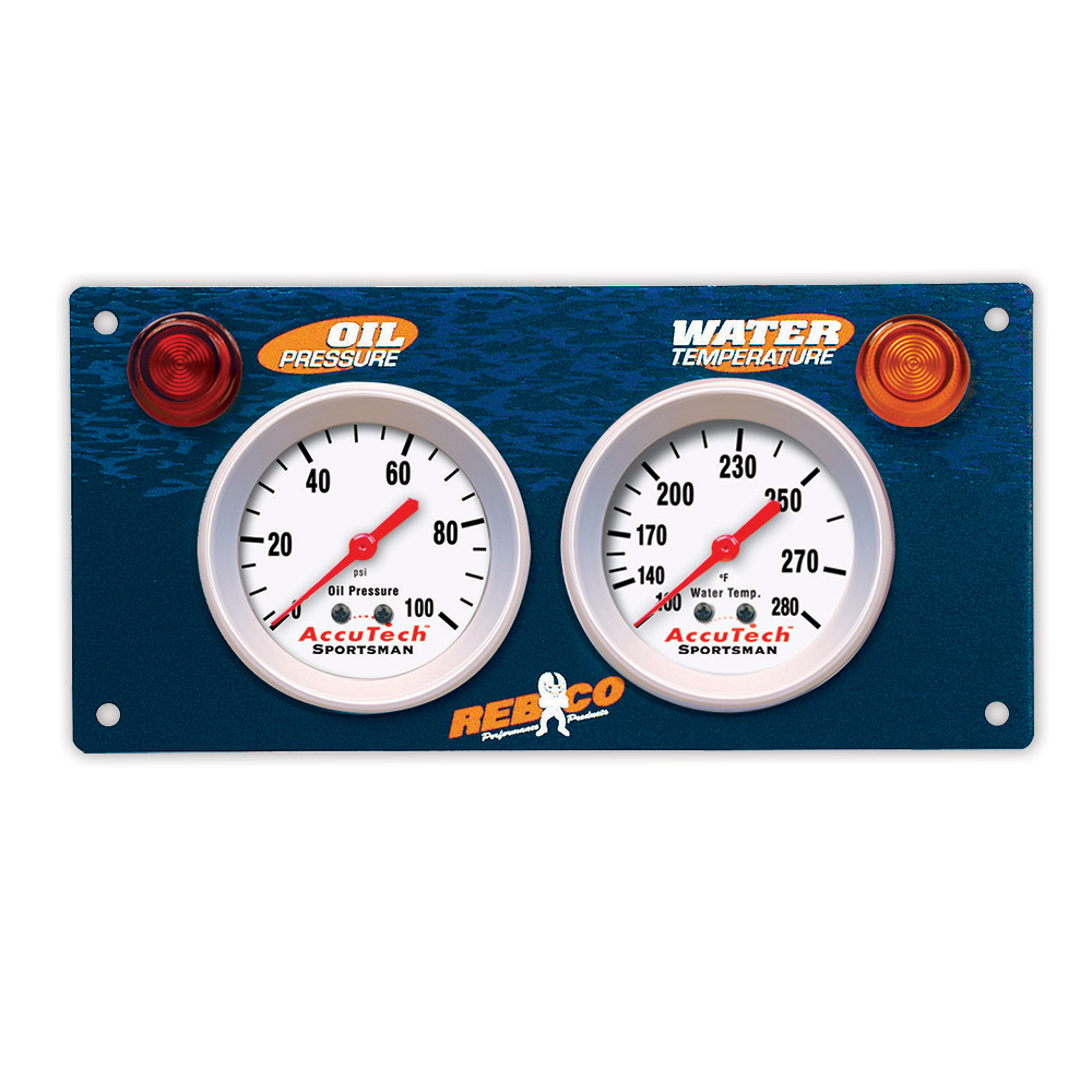 2 Gauge AccuTech™ Sportsman™ Gauge Panel - OP,WT