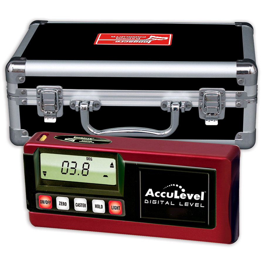 Digital Caster / Camber Gauge w AccuLevel™ - No Adapter