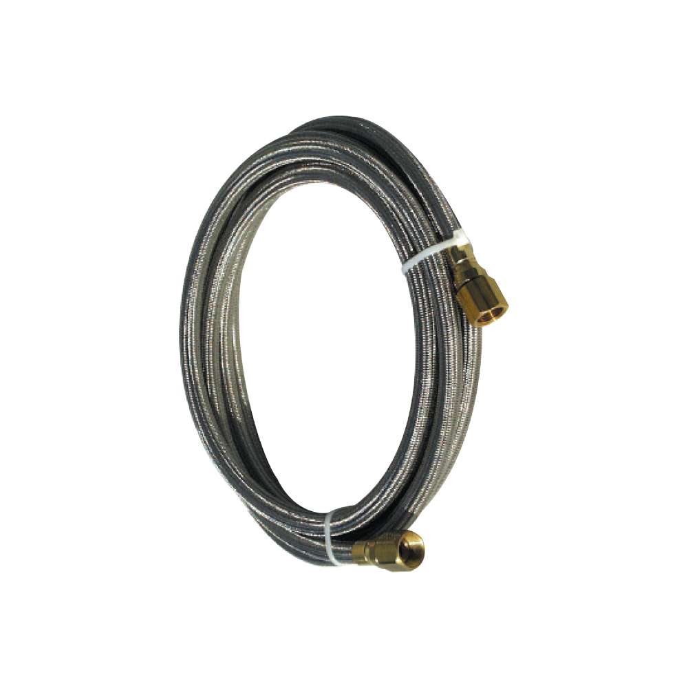 "Braided teflon fuel line - 144"" (102""-114"" wheelbase cars)"