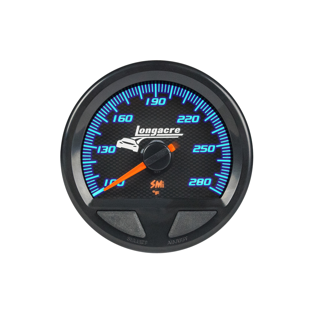 SMi™ Elite Waterproof Gauges, Water Temperature/Oil Temperature 100-280, Sensor Not Included
